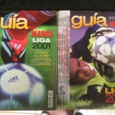 Coleccionismo deportivo: GUÍAS MARCA 2001 Y 2002. Lote 277446478