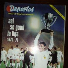 Coleccionismo deportivo: VALENCIA C.F. REVISTAS HISTÓRICAS. Lote 277518798