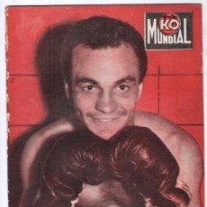Coleccionismo deportivo: 1957 K.O. MUNDIAL # 239 MIGUEL PENDOLA POSTER SABINO BILANZONE ROBINSON ROCKY RIVERO PAULO DE JESUS. Lote 277542613