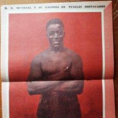 Coleccionismo deportivo: 1957 K.O. MUNDIAL # 240 PERUANO ALEX RELLY TAPA ANDRES SELPA ROBINSON LATINOAMERICANO CHILE BOX. Lote 277544073