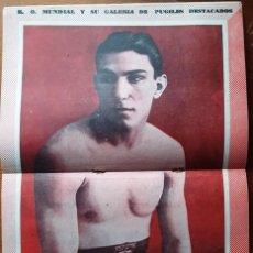 Coleccionismo deportivo: 1957 K.O. MUNDIAL # 241 POSTER ENRIQUE VENTURI TAPA CONRADO MOREYRA ALEX MITEFF THOMPSON VS VARGAS. Lote 277544658