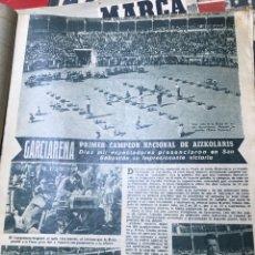 Coleccionismo deportivo: GARCIARENA PRIMER CAMPEÓN NACIONAL DE AIZCOLARIS. Lote 277554418