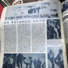 Collectionnisme sportif: II PREMIO INTERNACIONAL SIERRA NEVADA SKI. Lote 277591088