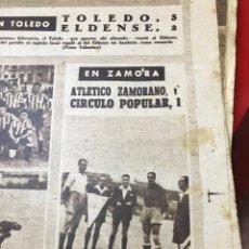 Coleccionismo deportivo: RECORTE ATLÉTICO ZAMORANO 1949. Lote 277591303