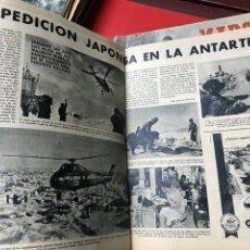 Coleccionismo deportivo: EXPEDICIÓN JAPONESA EN LA ANTÁRTIDA. Lote 277591453