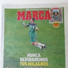 Coleccionismo deportivo: MARCA: RETIRADA DE CASILLAS. Lote 277721753