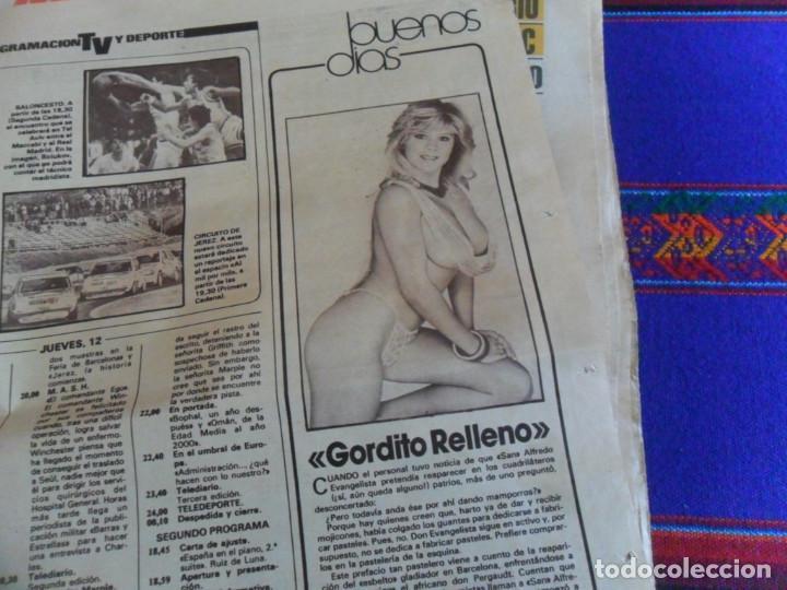 Coleccionismo deportivo: DIARIO AS MARCA COPA UEFA 1985 1986 REAL MADRID BORUSSIA MOENCHENGLADBACH 4 0. REGALO ANDERLECHT 6 1 - Foto 2 - 278232428