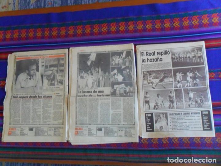 Coleccionismo deportivo: DIARIO AS MARCA COPA UEFA 1985 1986 REAL MADRID BORUSSIA MOENCHENGLADBACH 4 0. REGALO ANDERLECHT 6 1 - Foto 3 - 278232428