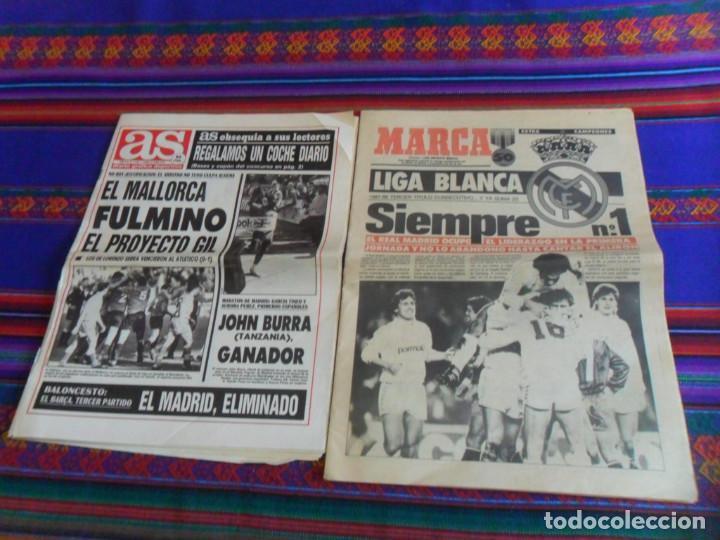 MARCA EXTRA CAMPEONES CAMPEÓN DE LIGA 1987 88 REAL MADRID. REGALO AS Nº 7488, 22-4-1991. (Coleccionismo Deportivo - Revistas y Periódicos - Marca)