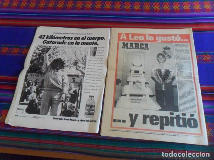 Coleccionismo deportivo: MARCA EXTRA CAMPEONES CAMPEÓN DE LIGA 1987 88 REAL MADRID. REGALO AS Nº 7488, 22-4-1991. - Foto 2 - 278233073