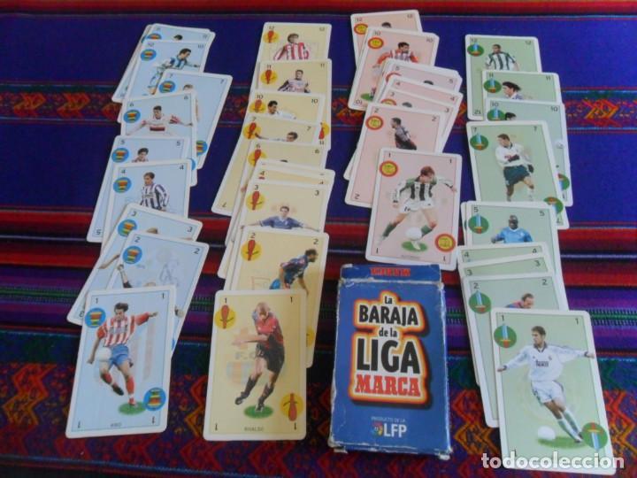 COMPLETA 40 CARTAS, LA BARAJA DE LA LIGA 1997 1998. MARCA. (Coleccionismo Deportivo - Revistas y Periódicos - Marca)