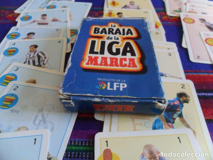 Coleccionismo deportivo: COMPLETA 40 CARTAS, LA BARAJA DE LA LIGA 1997 1998. MARCA. - Foto 4 - 278234018