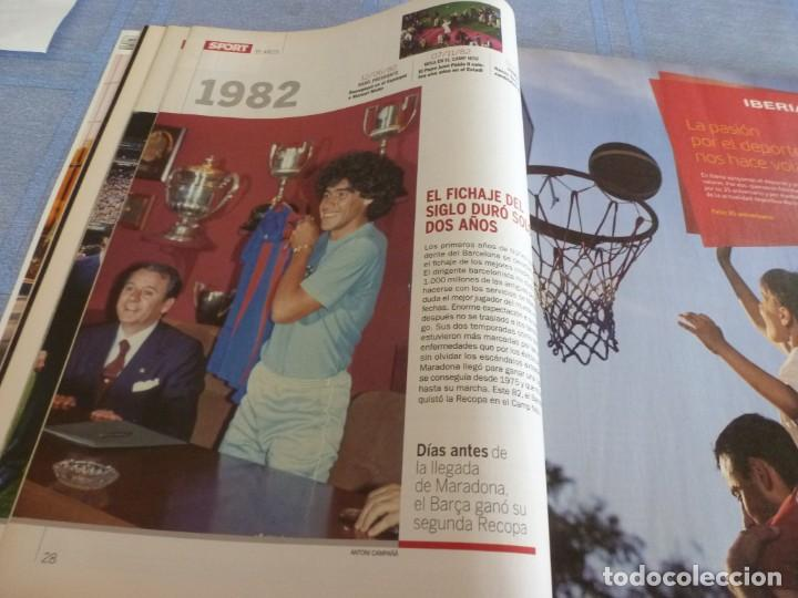 Coleccionismo deportivo: (BTA)REVISTA 35 ANIVERSARIO SPORT 1979-2014 LA HISTORIA CONTINÚA - Foto 5 - 278373673