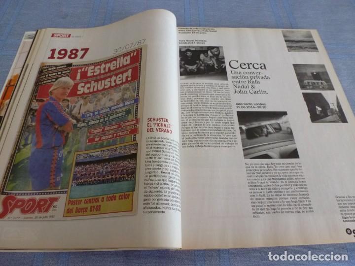 Coleccionismo deportivo: (BTA)REVISTA 35 ANIVERSARIO SPORT 1979-2014 LA HISTORIA CONTINÚA - Foto 7 - 278373673