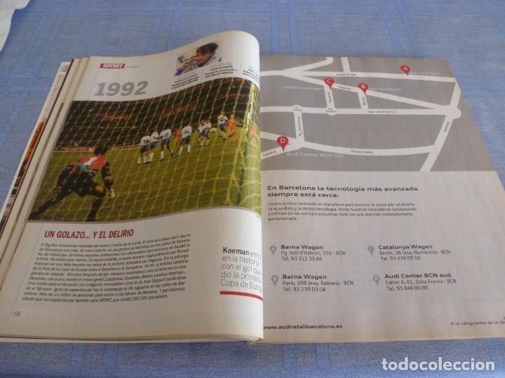 Coleccionismo deportivo: (BTA)REVISTA 35 ANIVERSARIO SPORT 1979-2014 LA HISTORIA CONTINÚA - Foto 8 - 278373673
