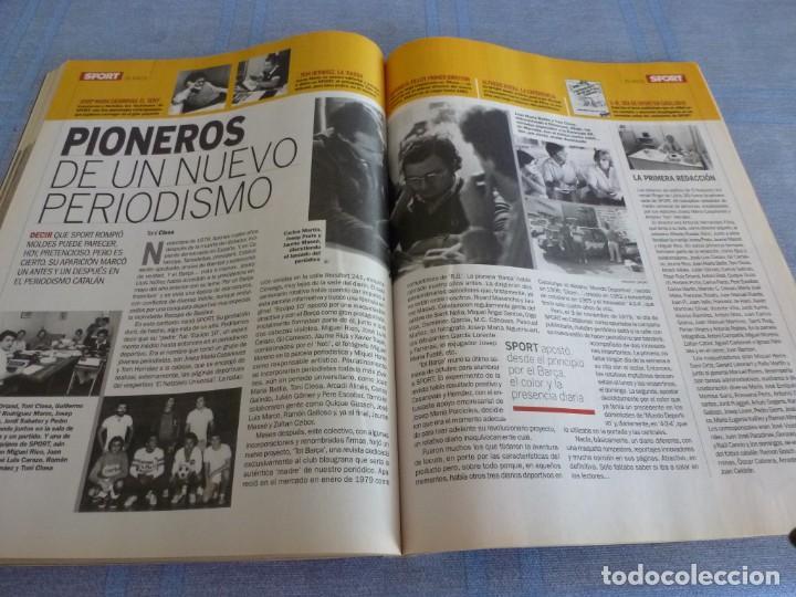 Coleccionismo deportivo: (BTA)REVISTA 35 ANIVERSARIO SPORT 1979-2014 LA HISTORIA CONTINÚA - Foto 14 - 278373673