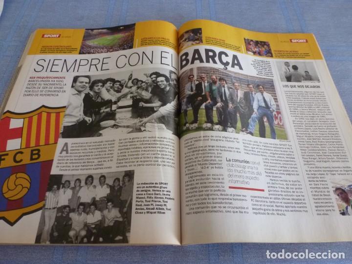 Coleccionismo deportivo: (BTA)REVISTA 35 ANIVERSARIO SPORT 1979-2014 LA HISTORIA CONTINÚA - Foto 15 - 278373673