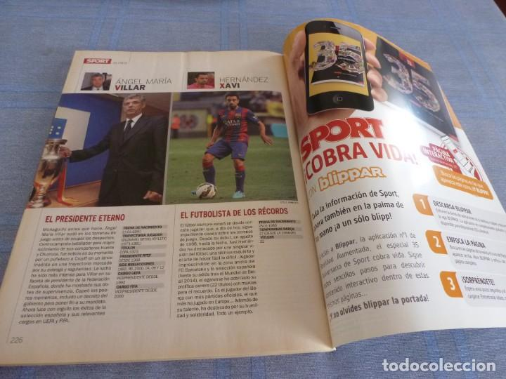 Coleccionismo deportivo: (BTA)REVISTA 35 ANIVERSARIO SPORT 1979-2014 LA HISTORIA CONTINÚA - Foto 16 - 278373673