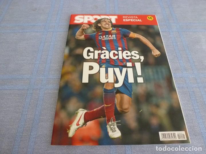 (BTA) ESPECIAL SPORT GRACIAS PUYOL (BARÇA)-F.C.BARCELONA-EN CASTELLANO (Coleccionismo Deportivo - Revistas y Periódicos - Sport)