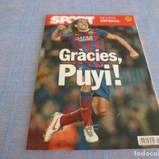 Coleccionismo deportivo: (BTA) ESPECIAL SPORT GRACIAS PUYOL (BARÇA)-F.C.BARCELONA-EN CASTELLANO. Lote 278374618