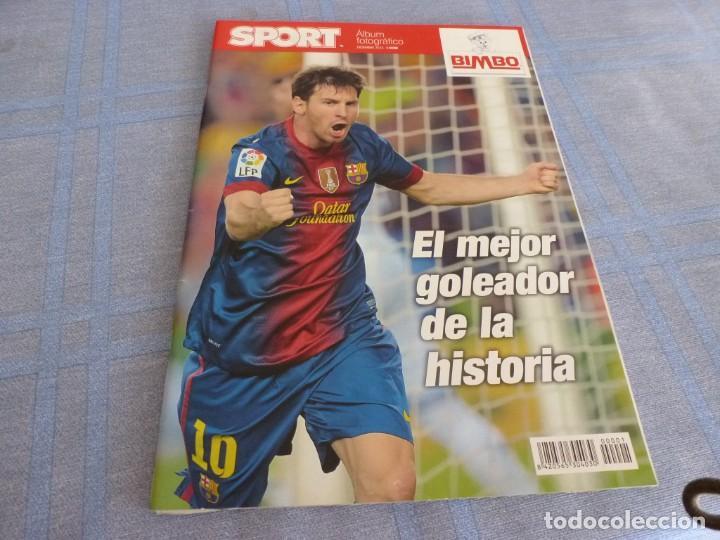 (BTA) ESPECIAL SPORT (DICIEMBRE 2012)MESSI EL MEJOR GOLEADOR DE LA HISTORIA-EN CASTELLANO (Coleccionismo Deportivo - Revistas y Periódicos - Sport)