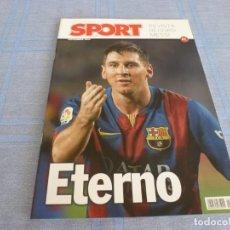 Colecionismo desportivo: (BTA) ESPECIAL SPORT (NOVIEMBRE 2014)MESSI ETERNO-EN CASTELLANO. Lote 278375598