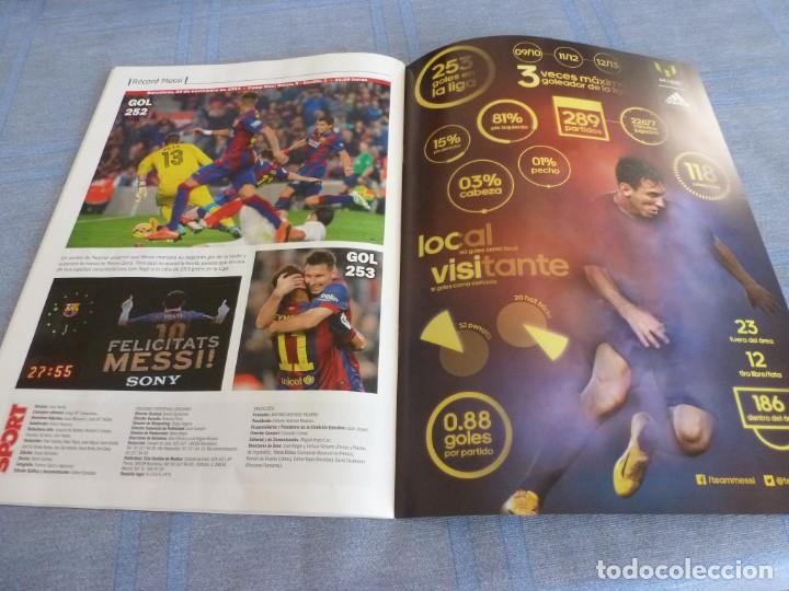 Coleccionismo deportivo: (BTA) ESPECIAL SPORT (NOVIEMBRE 2014)MESSI ETERNO-EN CASTELLANO - Foto 25 - 278375598