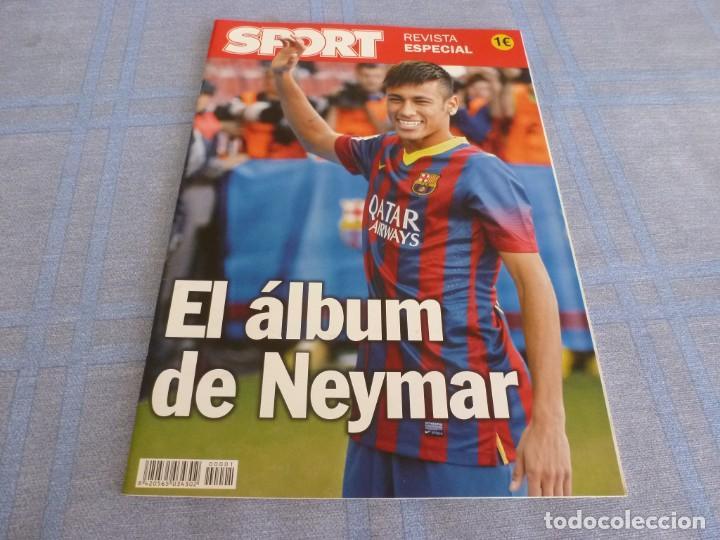 (BTA) ESPECIAL SPORT EL ÁLBUM DE NEYMAR-EN CASTELLANO (Coleccionismo Deportivo - Revistas y Periódicos - Sport)