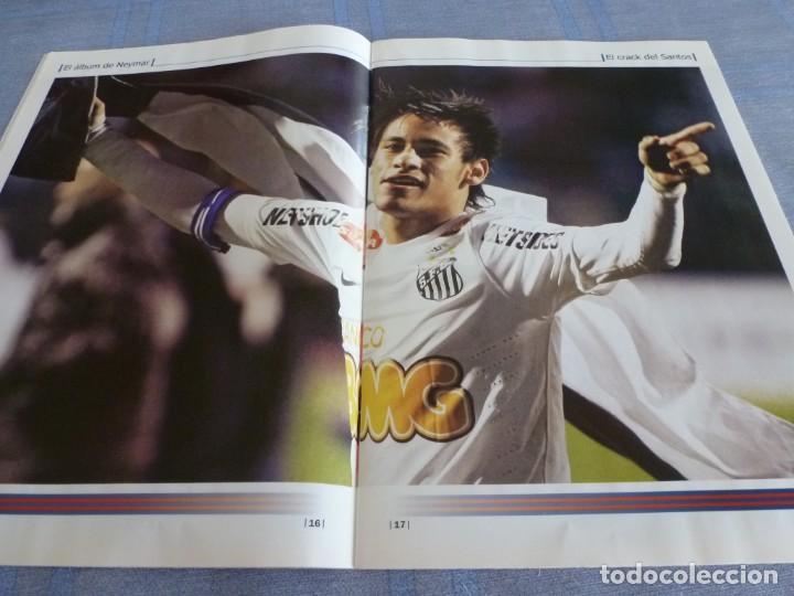 Coleccionismo deportivo: (BTA) ESPECIAL SPORT EL ÁLBUM DE NEYMAR-EN CASTELLANO - Foto 8 - 278375873