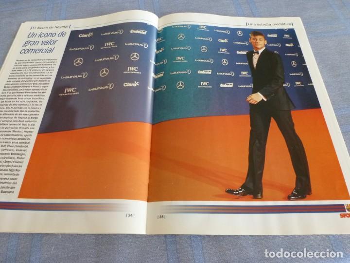Coleccionismo deportivo: (BTA) ESPECIAL SPORT EL ÁLBUM DE NEYMAR-EN CASTELLANO - Foto 16 - 278375873