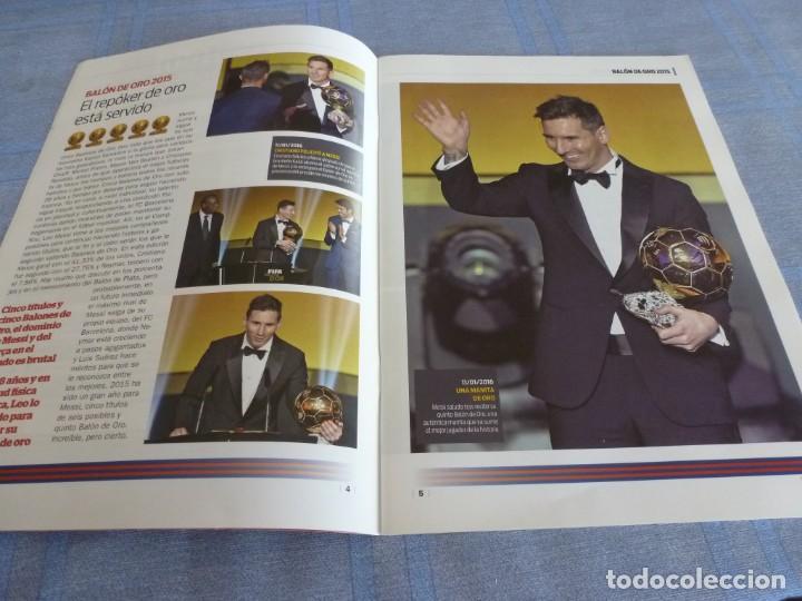 Coleccionismo deportivo: (BTA) ESPECIAL SPORT (ENERO 2016) MESSI REY DE OROS-EN CASTELLANO - Foto 2 - 278376043