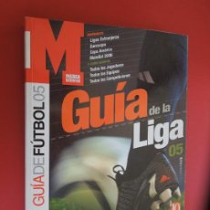 Coleccionismo deportivo: MARCA GUIA LIGA 2005 -GUIA OFICIAL LIGA MARCA FUTBOL 2005 ANUARIO. Lote 278410488