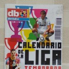 Coleccionismo deportivo: DON BALON CALENDARIO DE LA LIGA N 67 TEMPORADA 2010-2011 FÚTBOL. Lote 278428428