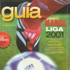 Coleccionismo deportivo: GUIA MARCA LGA 2001. Lote 278605688