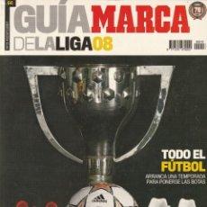 Coleccionismo deportivo: GUIA MARCA LGA 08. TEMPORADA 2007 2008. Lote 278610893