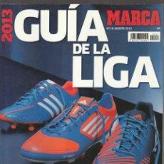 Coleccionismo deportivo: GUIA MARCA DE LA LIGA 2013 TEMPORADA 2012 2013. Lote 278611883