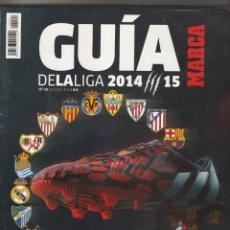 Coleccionismo deportivo: GUIA MARCA DE LA LIGA 2014 2015. Lote 278612223