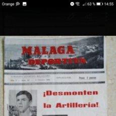 Coleccionismo deportivo: SEMANARIO DEPORTIVO MALAGUEÑO AÑO 1969 PERIÓDICO DE FÚTBOL. Lote 278759688