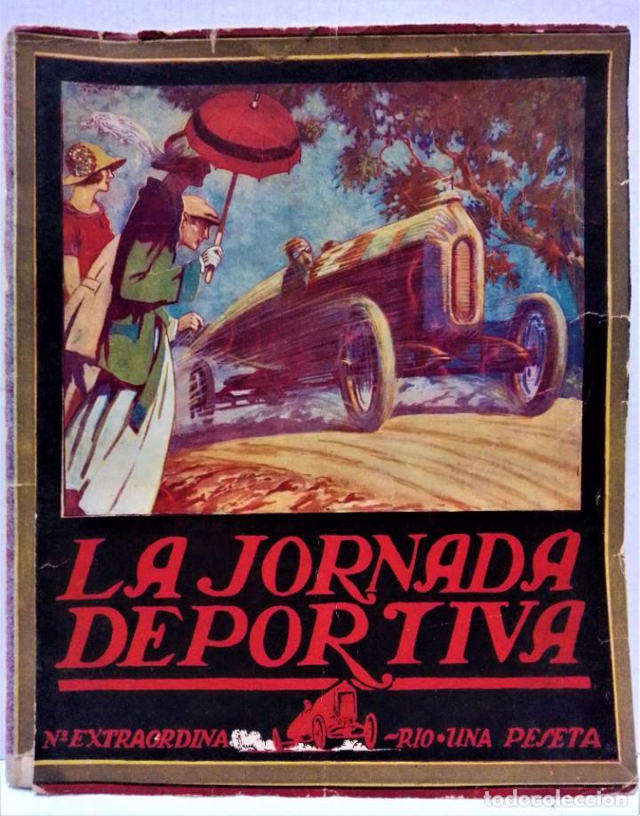 REVISTA LA JORNADA DEPORTIVA Nº EXTRAORDINARIO.TROFEO ARMANGUÉ.1º,2º ,Y 3º Y ÚLTIMO AÑO. (Coleccionismo Deportivo - Revistas y Periódicos - La Jornada Deportiva)