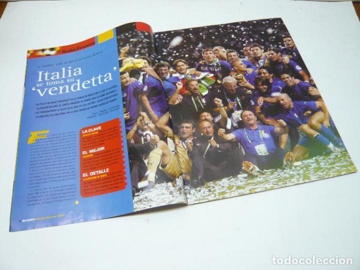 Coleccionismo deportivo: REVISTA DON BALÓN Nº 1604, JULIO 2006: FORZA ITALIA, TETRA CAMPEONA DEL MUNDIAL DE FÚTBOL - Foto 2 - 279465808