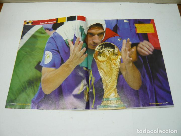 Coleccionismo deportivo: REVISTA DON BALÓN Nº 1604, JULIO 2006: FORZA ITALIA, TETRA CAMPEONA DEL MUNDIAL DE FÚTBOL - Foto 3 - 279465808