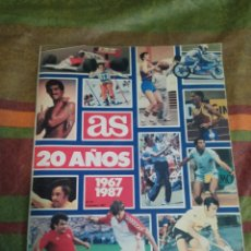 Coleccionismo deportivo: REVISTA AS 20 AÑOS 1967 1987 AÑO 1987 N. 97. Lote 279520573