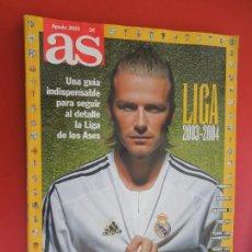 Coleccionismo deportivo: AS GUIA LIGA 2003-2004. Lote 279528683