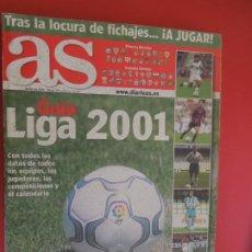 Coleccionismo deportivo: AS GUIA LIGA 2001- DIARIO AS. Lote 279529018