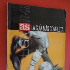 Coleccionismo deportivo: AS GUIA DE LA LIGA 1997-1998- LA GUIA MAS COMPLETA. Lote 279529488