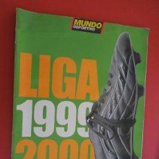 Coleccionismo deportivo: MUNDO DEPORTIVO , LIGA 1999-2000. Lote 279548853