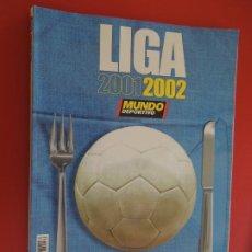 Coleccionismo deportivo: MUNDO DEPORTIVO , LIGA 2001-2002 REVISTA. Lote 279549703