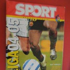 Coleccionismo deportivo: SPORT REVISTA LIGA 2004-2005 -REVISTA ESPECIAL. Lote 279550693