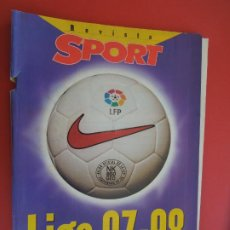 Coleccionismo deportivo: SPORT REVISTA LIGA 97-98 -EL OBJETIVO ES RECUPERAR LA LIGA.. Lote 279551103