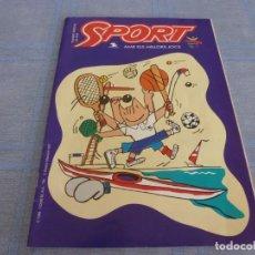 Coleccionismo deportivo: (BTA) SPORT NUMERO ESPECIAL CON LOS MEJORES JUEGOS OLIMPICOS EN BARCELONA-92. Lote 280381523